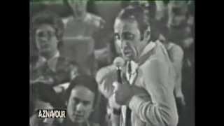 Charles Aznavour - Le cabotin [LIVE