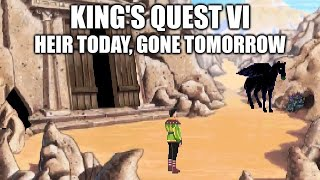KING'S QUEST VI Adventure Game Gameplay Walkthrough - No Commentary Playthrough