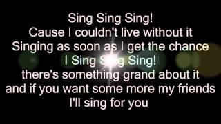 Sing sing sing - VanVelzen (Lyrics)