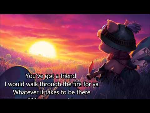 Natalia Druyts - you've got a friend (lyrics)