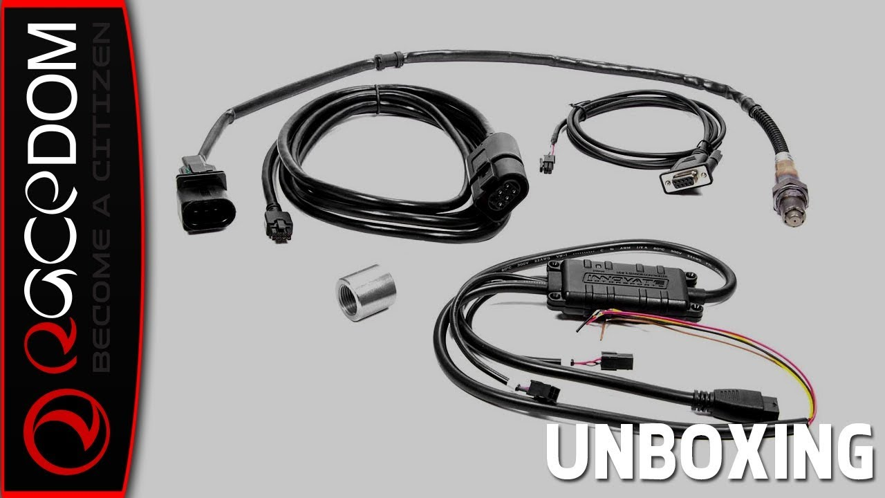 Unboxing the Innovate LC-2: Digital Wideband Lamda O2 Controller Kit