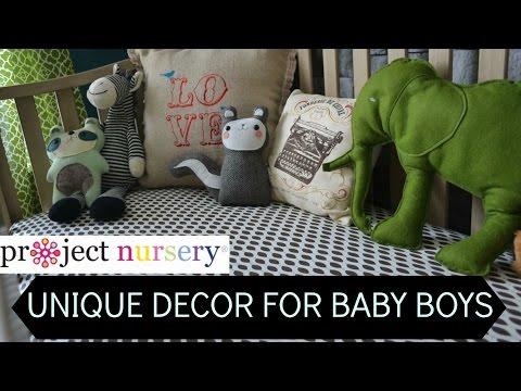 Project Nursery: Unique Nursery Decor For Baby Boys