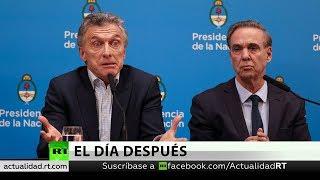 Macri y Fernández se acusan mutuamente de la caída de los mercados argentinos