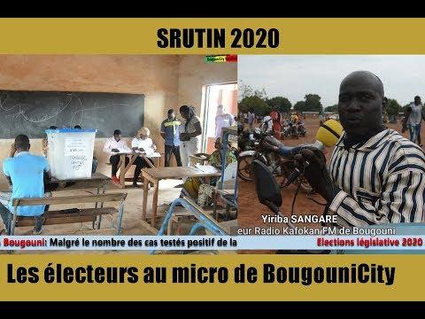 Scrutin 2020 à Bougouni les électeurs aux micro de BougouniCity