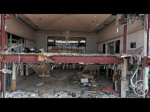 Abandoned Shopping Mall in Piles Around Abandoned JCPenney |