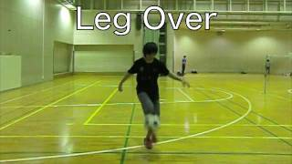 Learn Leg Over(レッグオーバー) freestyle football skill