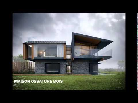 Maison Ossature Bois - Montage - [Les plus belles maisons du monde] - Episode 1