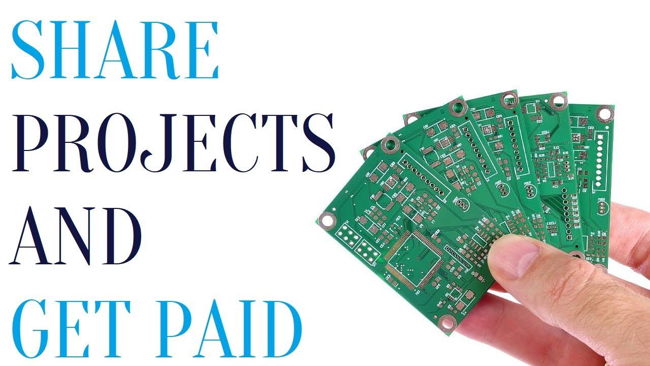 PCBWay - Share open source projects to get commission