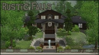 The Sims 3 Home Building - Rustic Falls