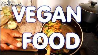 Vegan Stir Fry Vegetables And Mushroom From Chef Ricardo!!