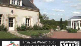 Maison à vendre en Touraine | Demeure de Prestige | VIP's Ventes immobilières de prestige