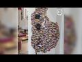 Incredible Lego wall installation by Dante Dentoni