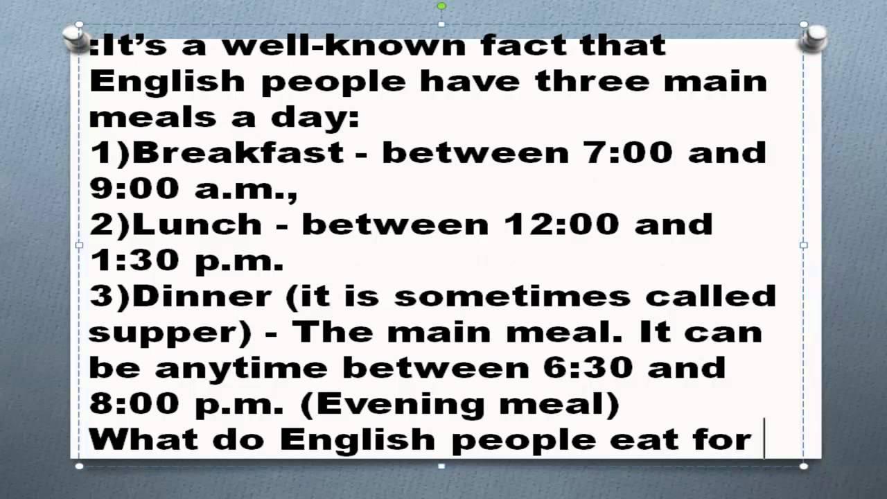 презентация на тему национальная кухня великобритании