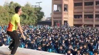 Abi to party shuru hui hai Zumba dance by 1500 Students