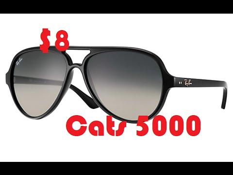 fake ray ban sunglasses aliexpress  aliexpress ray ban cats 5000 aviator sunglasses gloss black