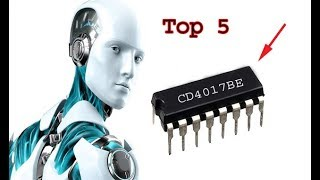 Top 5 CD4017 diy electronics projects, awesome top5 diy projects