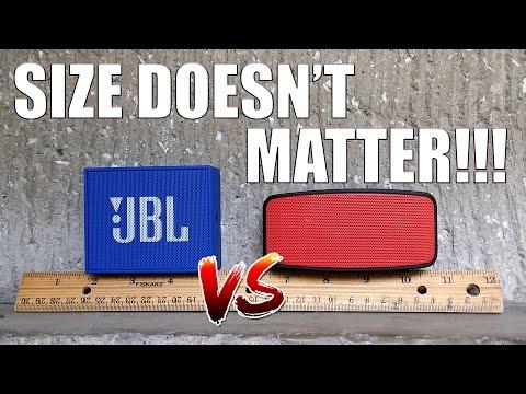 Battle of the Mini Speakers - Sound Bytes N10 VS JBL GO!