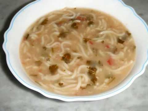 لاغری با سوپ جو طرز تهيه سوپ جو با آش - YouTube