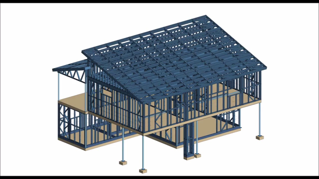 Design Of Light Steel Frame Construction Youtube