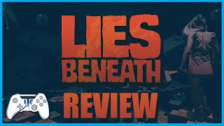 Lies Beneath Review - Horror VR With Style! (Video Game Video Review)