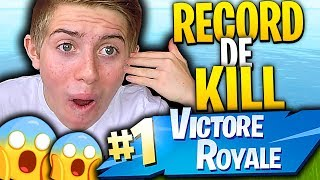 J'AI ENCORE BATTU MON RECORD DE KILL SOLO SUR FORTNITE BATTLE ROYALE !!!