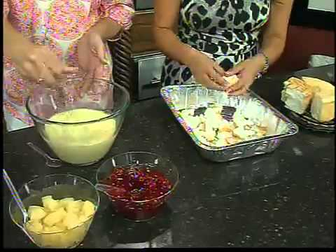 Recipes for fruit punch bowl cake