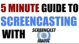 5 دقائق سيرا على دليل Screencasting