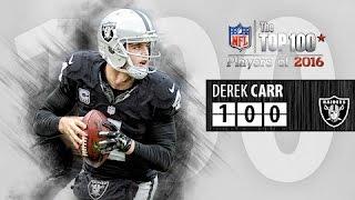 #100: Derek Carr (QB, Raiders) | Top 100 NFL Players of 2016