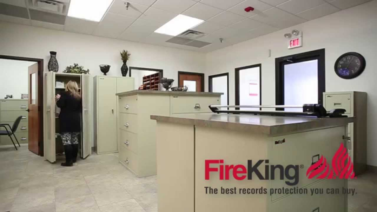 Fireking Vertical File Cabinets Fireproof Doent Storage Security