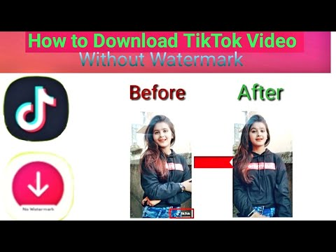 How To Download TikTok Video Without Watermark🔥