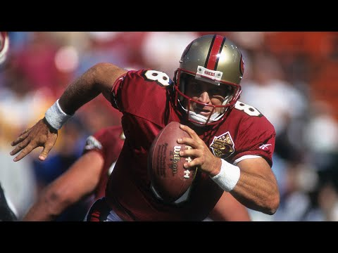 #81: Steve Young | The Top 100: NFL's Greatest Players (2010) | NFL Films