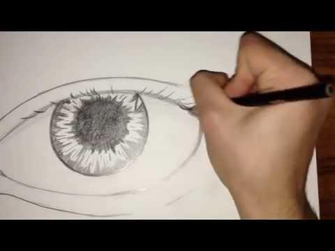 Tutorial Come Disegnare Un Occhio Realistico Parte 1 Youtube