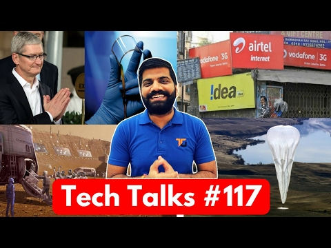 Tech Talks #117 - Jio Lost to AirTel, Soybean Graphene, City on Mars, Apple Make in India, Asus VR
