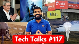 Tech Talks #117 Jio Lost to AirTel, Soybean Graphene, City on Mars, Apple Make in India, Asus VR