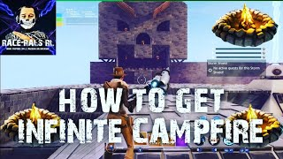 HOW TO GET INFINITE CAMPFIRE GLITCH FORTNITE SAVE THE WORLD