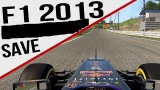 Save Game F1 2013