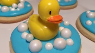 Bubble Bath Ducky Cookies (How To)