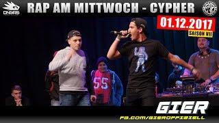 RAP AM MITTWOCH FRANKFURT: 01.12.17 Die Cypher feat. GIER, TOBI NICE, JOLLE uvm. (1/4)