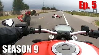 Crashes, Close Calls & Crazy Angry People vs Riders   S9, Ep.5