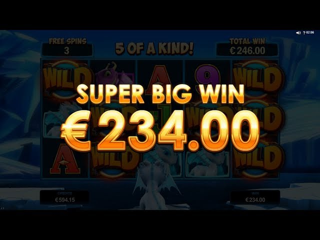 BIG WIN - Dragonz - Frost's Free Spins