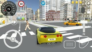 Driving School 3D - #3 New Car Unlocked | Car Simulator Games - Android iOS GamePlay FHD