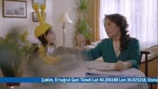 Turkcell HÜLYA KOÇYİĞİT Annem Ahmedim Nerdesin Anneye Yapılır Mı Bu Reklamı 2013,