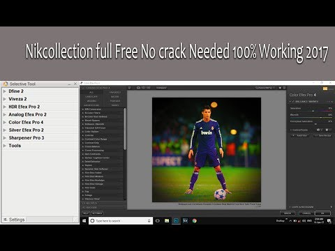Nik Collection Photoshop Plugin Full Free No Crack Needed 100% Working