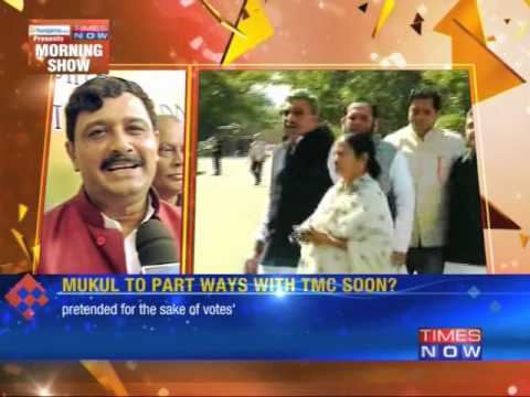 Mukul Roy to Part Way With TMC Soon?
