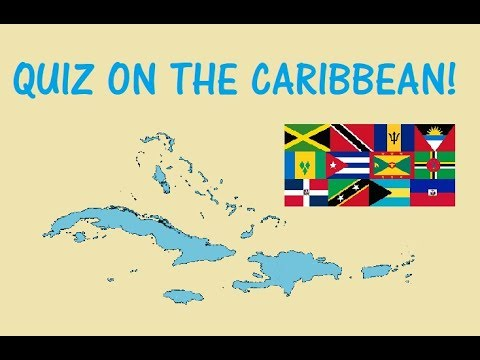Geography QUIZ on the CARIBBEAN Islands! - Testing Your Neurons