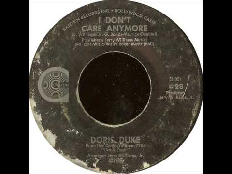 Doris Duke .   I Don't Care Anymore .1970.