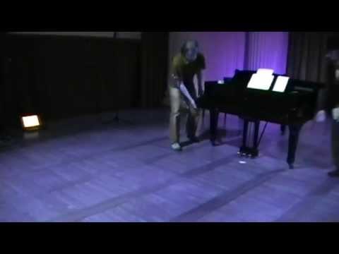 "George Brecht: Piano Piece ""Center"""