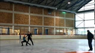 Aljona Savchenko & Bruno Massot -diary(1)-