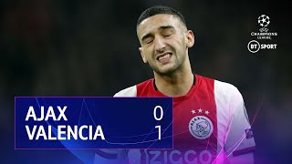 Ajax vs Valencia (0-1) | UEFA Champions League Highlights