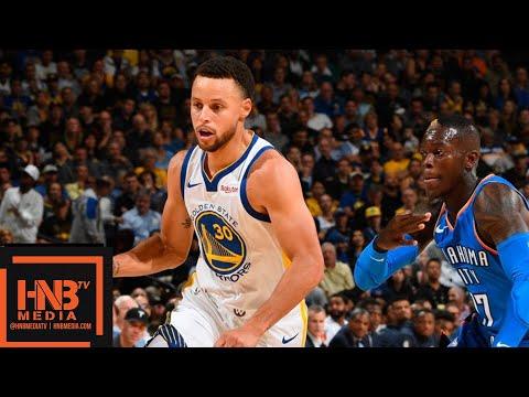 Golden State Warriors vs Oklahoma City Thunder Full Game Highlights | 10.16.2018, NBA Season